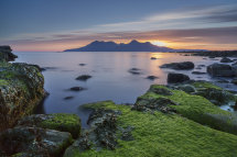 6906 Rhum from Bay of Laig Isle of Eigg