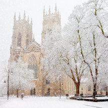 5330 York Minster in Snow