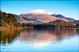 Blencathra over Derwentwater
