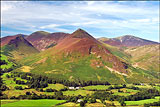 Causey Pike and Rowling End  across Newlands