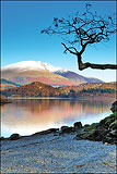 Derwentwater and Blencathra Reflections.