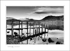 Derwentwater Jetty at Dusk