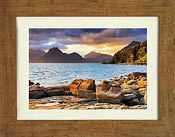 Cuillin 2 Distressed Oak frame