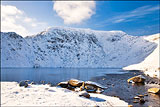 Red Tarn and Helvellyn.
