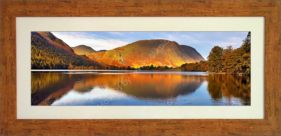 Mellbreak and Buttermere