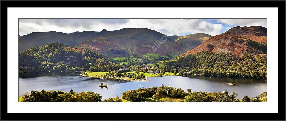 Lake District Prints : Ullswater & Glenridding