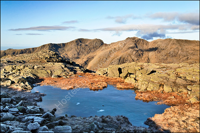 Scafell from Crinkle Crags