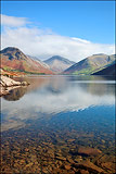 Great Gable over Wastwater