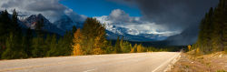 Icefield Parkway, Jasper National Park.