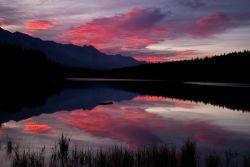 Johnson lake, Banff National Park.