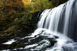 Sgwd Clun Gwyn waterfall, Brecon Beacons