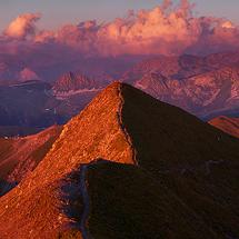 Mount Jovet Sunset