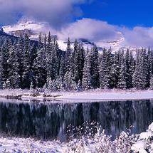 Oxbow Lake Reflection