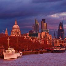 Waterloo Bridge sunset