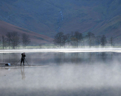 'Misty Dawn over Buttermere' (G10)