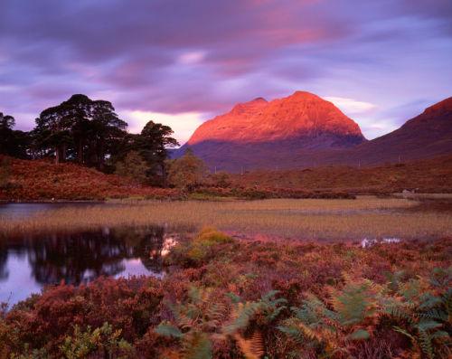'Dawn at Loch Clair'