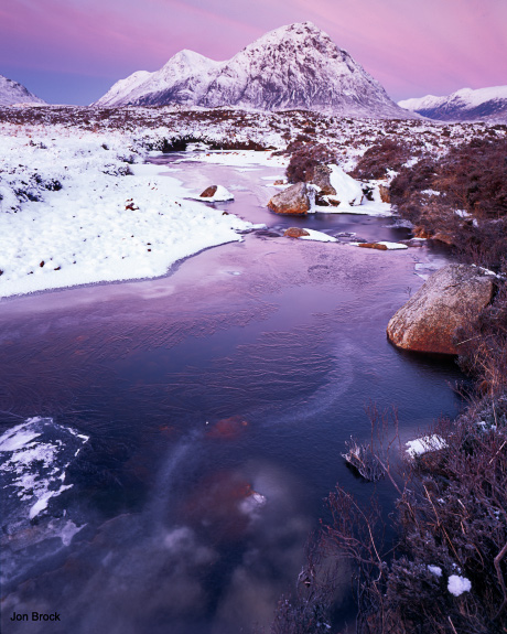 'Buachaille Etive Mor on a Pink Morning'