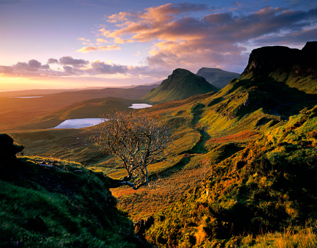 'The Quiraing at Dawn'