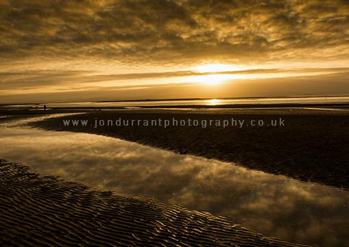 Sunset At Burnham on Sea