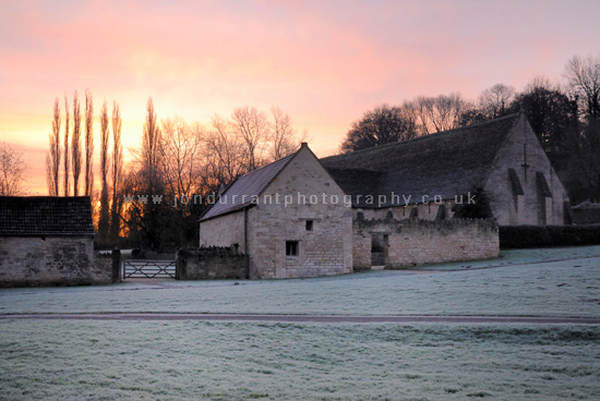 West Barn Sunrise