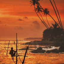 Weligama, Sri Lanka.