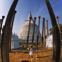 Anuradhapura, Sri Lanka.