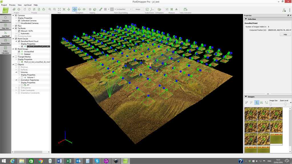 drone UAV photogrammetry and 3d modelling surveys