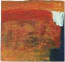 Untitled 1. Acrylic on Card. 12 x 12 cm