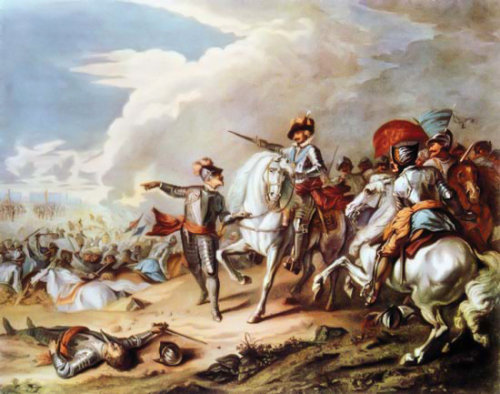 Battle of Naseby, artist unknown