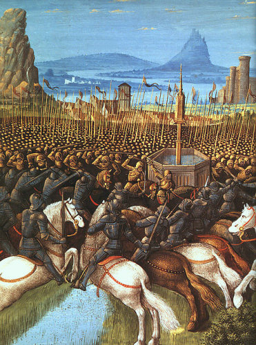 Templar Defeat at the Battle of the Horns of Hattin