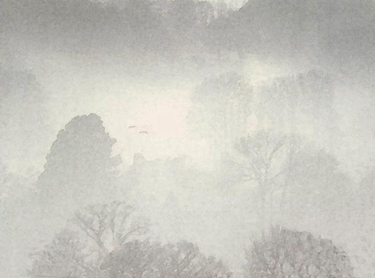 Mist over Houses