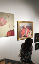 Should've Seen Us In Our Prime - displayed at the SWA open at the Mall Galleries, London.