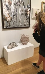 Life's Twists and Turns - displayed at the SWA open at the Mall Galleries, London.