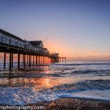 Suffolk Southwold pier sunrise 9577-161003-1