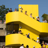 yellow stair 9810. south bank London.