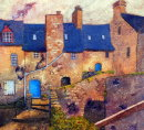 Dinan, old town, France