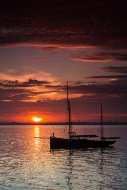 Sunset over Dublin 5864