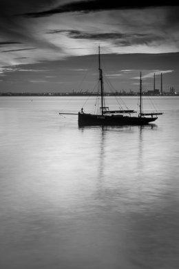 Twilight on Dublin Bay 5922
