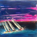 Racing up the solent. Sold