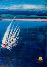 Rounding the buoy .Sold