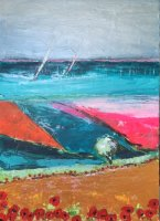 Sailing Round our Island. 70 x 100 cm