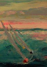 Sailing passion 100 x 100 cm