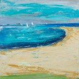 Ryde beach 100 x 100 cm