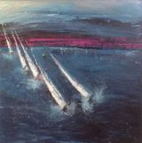 100 x 100 cm canvas.Sold