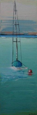 Hanging off the Buoy . sold