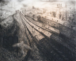 The arrival: Aberdeen Railway Station