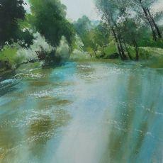 Fast River, Lacock, Wiltshire