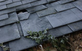 Frosty Roof Tiles