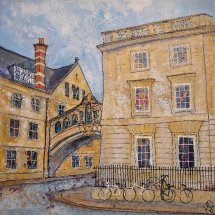 Bridge and Bikes, Oxford