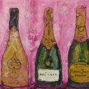 Champagne in Pink (sold)